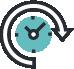 Icono de un cronómetro