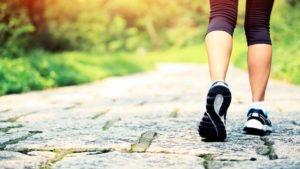 Andar rutina saludable